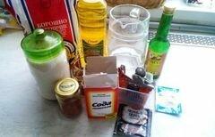 «Шоколадные кейки с перцем чили» - приготовления блюда - шаг 1