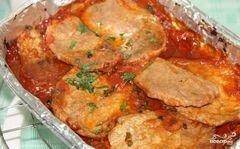 «Мясо в томатном соусе» - приготовления блюда - шаг 4