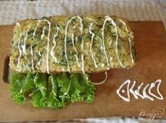 «Слоеный пирог с рыбой» - приготовления блюда - шаг 8