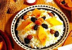 «Сладкий плов в мультиварке» - приготовления блюда - шаг 7