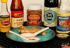«Арахисовый соус» - приготовления блюда - шаг 1
