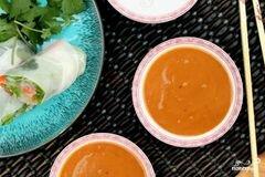 «Арахисовый соус» - приготовления блюда - шаг 14