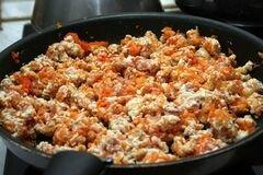 «Каннеллони с индейкой по-итальянски» - приготовления блюда - шаг 3