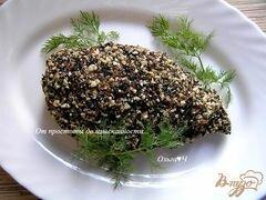 «Куриные грудки в ореховой панировке с кунжутом» - приготовления блюда - шаг 5