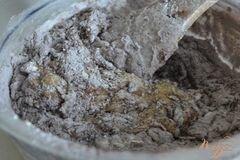 «Шоколадный кекс с яблоками» - приготовления блюда - шаг 3
