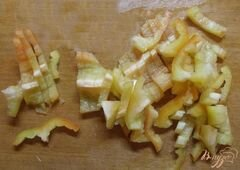 «Салат с крымским луком и фетой» - приготовления блюда - шаг 3
