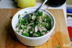 «Запеченное филе лосося» - приготовления блюда - шаг 1