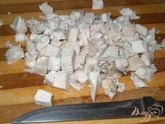 «Салат из курицы с фасолью и яблоком» - приготовления блюда - шаг 1