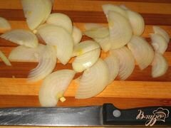 «Салат из курицы с фасолью и яблоком» - приготовления блюда - шаг 2