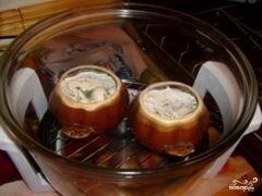 «Пельмени в горшочках в аэрогриле» - приготовления блюда - шаг 5