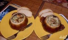 «Пельмени в горшочках в аэрогриле» - приготовления блюда - шаг 6