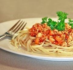 «Рагу Болоньезе со спагетти» - приготовления блюда - шаг 12