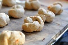 «Картофельные булочки с чесноком» - приготовления блюда - шаг 17