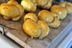 «Картофельные булочки с чесноком» - приготовления блюда - шаг 20