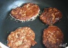 «Котлеты из печени свиной» - приготовления блюда - шаг 6