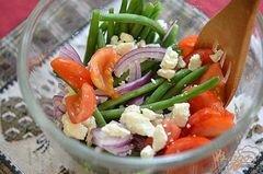 «Салат с зеленой фасолью» - приготовления блюда - шаг 2