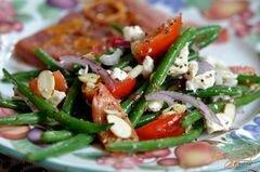 «Салат с зеленой фасолью» - приготовления блюда - шаг 5