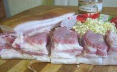 «Сало по Приазовски» - приготовления блюда - шаг 2