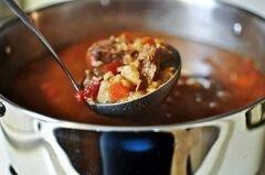 «Рагу из говядины и перловки» - приготовления блюда - шаг 3