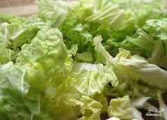 """«Салат """"Цезарь"""" с капустой» - приготовления блюда - шаг 1"""
