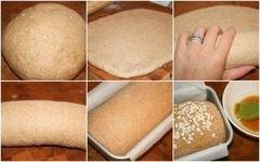 «Овсяной хлеб с медом» - приготовления блюда - шаг 1