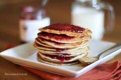 «Арахисовые блины с желе» - приготовления блюда - шаг 11