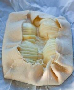 «Грушево-миндальный галет» - приготовления блюда - шаг 12