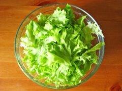 «Салат из латука и тунца» - приготовления блюда - шаг 4