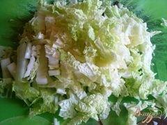 «Салат с сардинами» - приготовления блюда - шаг 2