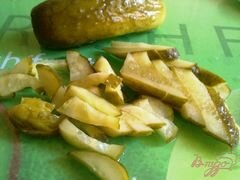 «Салат с сардинами» - приготовления блюда - шаг 4