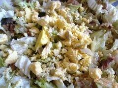 «Салат с сардинами» - приготовления блюда - шаг 8