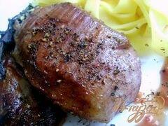 «Свинина в пиве с томатным соусом» - приготовления блюда - шаг 5