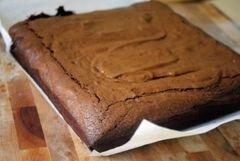 «Острые трюфельные шоколадные брауни с красным перцем» - приготовления блюда - шаг 8