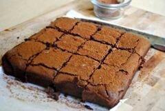 «Острые трюфельные шоколадные брауни с красным перцем» - приготовления блюда - шаг 9