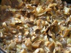«Грибной дип/паштет» - приготовления блюда - шаг 2