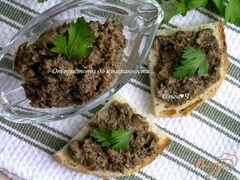 «Грибной дип/паштет» - приготовления блюда - шаг 4