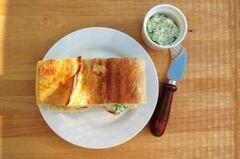Голец с картофелем и соусом песто, пошаговый рецепт с фото