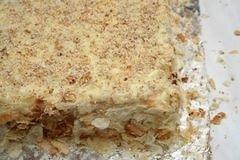 Торт Наполеон на бездрожжевом тесте, пошаговый рецепт с фото