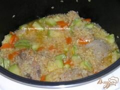 Булгур с кабачками по-тоскански, пошаговый рецепт с фото