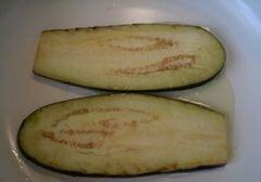 Рулетики из баклажана, пошаговый рецепт с фото