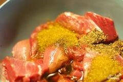 «Шашлык из баранины с уксусом» - приготовления блюда - шаг 1