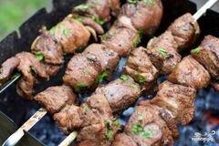 «Шашлык из баранины с уксусом» - приготовления блюда - шаг 4