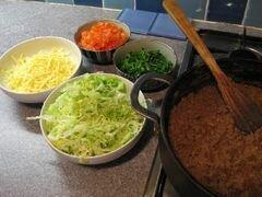 Бурито с фаршем – кулинарный рецепт
