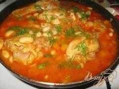 Рецепты курицы с фасолью в томатном соусе