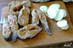 «Шашлык из сома» - приготовления блюда - шаг 5