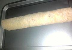 Штрудель с яблоками и калиновым соусом, пошаговый рецепт с фото