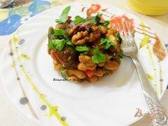Лобио с грибами, пошаговый рецепт с фото