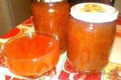 Янтарный джем из яблок с цукатами и корицей, пошаговый рецепт с фото
