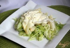 Тёплый салат из груш и моцареллы – кулинарный рецепт