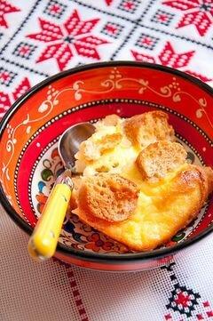 Ростбиф с хлебным пудингом с горгонзолои?, пошаговый рецепт с фото